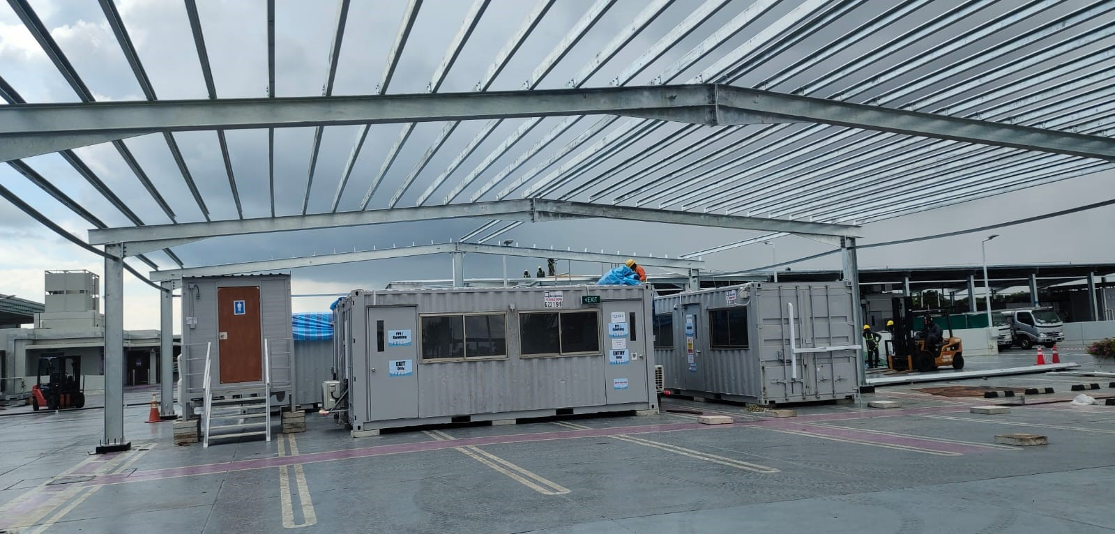 Used 20ft container for sale in Singapore | Anderco