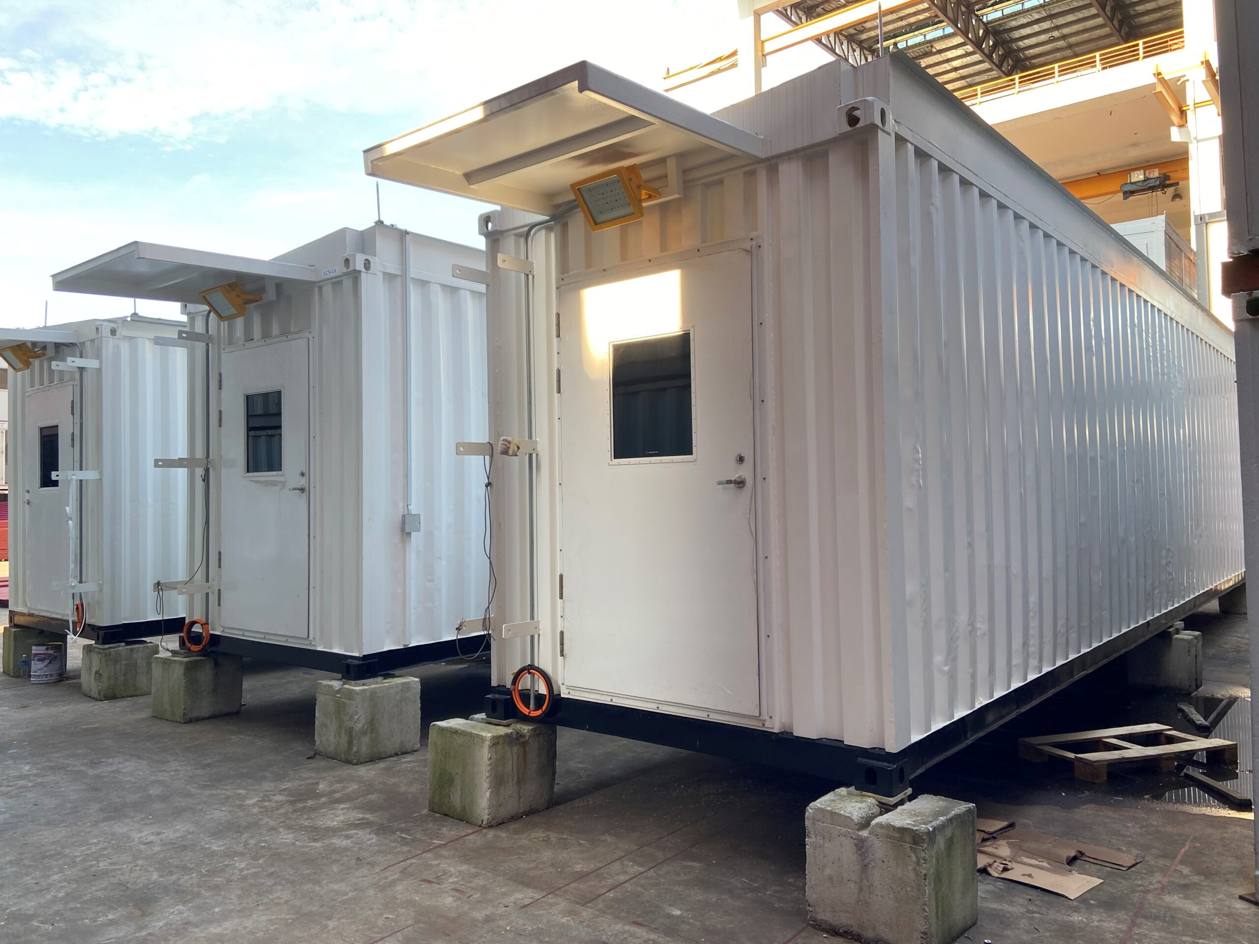 Rental of containers | Anderco