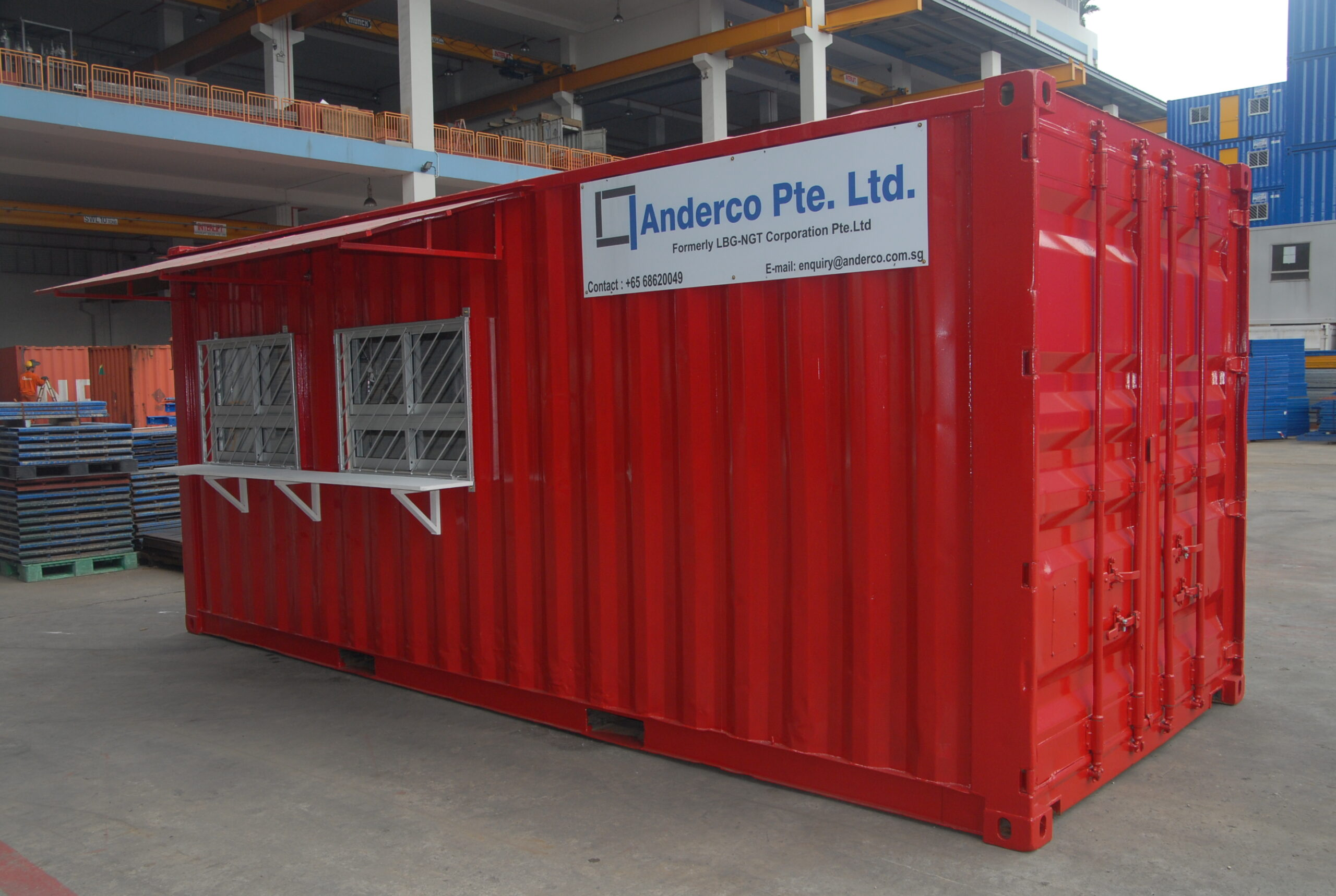 Used office container for sale in Singapore | Anderco